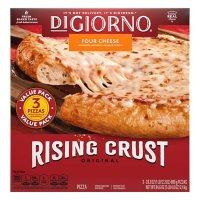 DiGiorno Original Rising Crust Four Cheese Pizza, Frozen (3 pk.)