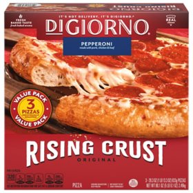 DiGiorno Rising Crust Pepperoni Pizza (29.6 oz., 3 pk.)