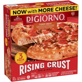DiGiorno Original Rising Crust Three Meat Frozen Pizza (3 pk.)
