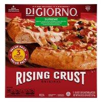 DiGiorno Original Rising Crust Supreme Pizza, Frozen (3 pk.)