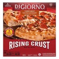 DiGiorno Original Rising Crust Three Meat Pizza, Frozen (3 pk.)
