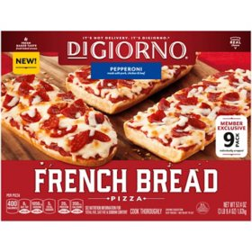 DiGiorno Pepperoni French Bread Pizza, Frozen (9 ct.)