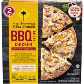 California Pizza Kitchen Crispy Thin Crust BBQ Chicken Recipe Frozen Pizza (2 pk.)