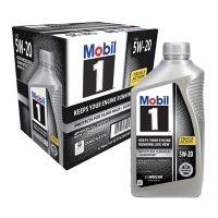 6-Pack Mobil 1 5W-20 Motor Oil 1-quart Bottles Deals