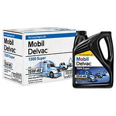 Mobil Delvac 1300 Super 15W-40 Case (4-pack / 1-gallon bottles)