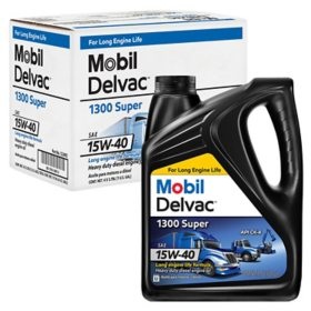 Mobil Delvac 1300 Super 15W-40 Case (4-pack/1 gallon bottles)