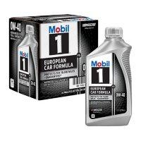 Mobil 1 FS 0W-40 Synthetic Motor Oil (6 pack, 1-quart bottles)