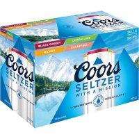 Coors Seltzer Variety Pack (12 fl. oz., 24 pk.)