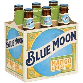 Blue Moon Mango Wheat Ale (12 fl. oz. bottle, 6 pk.)