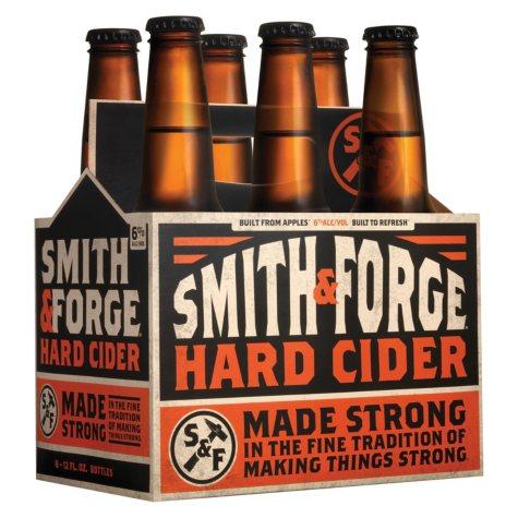 Smith & Forge Hard Cider (12 fl. oz. bottle, 6 pk.)