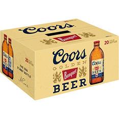 Coors Banquet Beer (12 fl. oz. bottle, 20 pk.)
