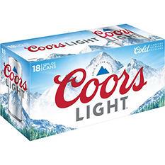 Coors Light Beer (12 fl. oz. can, 18 pk.)