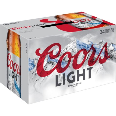 Coors Light Beer (12 oz. bottle, 24 pk.)