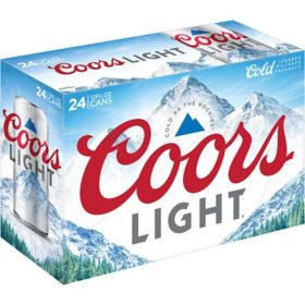 Coors Light Beer (12 fl. oz. can, 24 pk.)