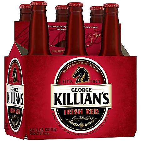 KILLIANS IRISH RED 6 / 12 OZ BOTTLE