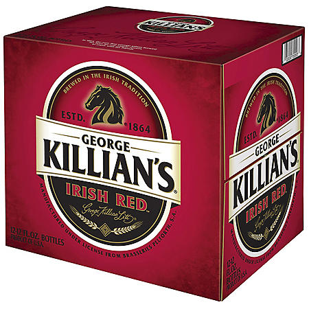 George Killian's Irish Red Beer (12 fl. oz. bottle, 12 pk.)