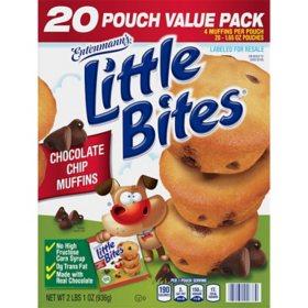 Entenmann's Little Bites Chocolate Chip Muffins (20 ct.)