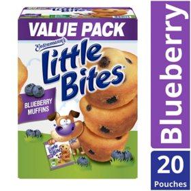 Entenmanns Little Bites Blueberry 33 Oz