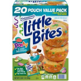 Entenmann's Little Bites Party Cake Muffins (1.65oz / 20pk)