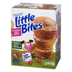 Entenmann's Little Bites Strawberry Yogurt Muffins (20 ct., 33 oz.)