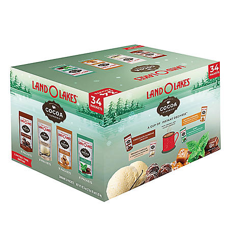 Land O' Lakes Cocoa Classics Hot Cocoa Mix, Variety Pack (34 pk.)