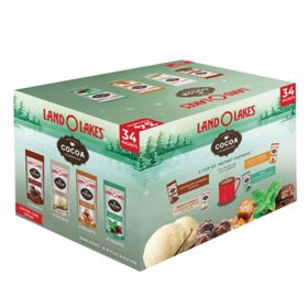 Land O' Lakes Cocoa Classics Hot Cocoa Mix, Variety Pack (34 pk.)