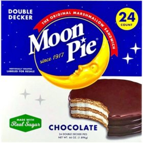 MoonPie Double Decker Chocolate (2.75 oz., 24 ct.)