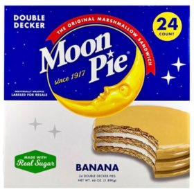 MoonPie Double Decker Banana (2.75 oz., 24 ct.)