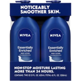 NIVEA Essentially Enriched Body Lotion (21 fl. oz., 2 pk.)