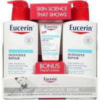 Eucerin Intensive Repair Body Lotion (21 fl. oz., 2 pk.) + Advanced Repair Hand Creme (2.7 oz.)