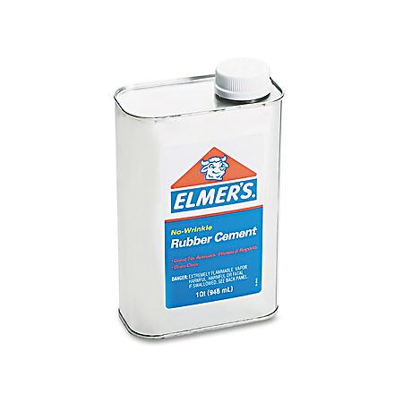 Elmer's - Rubber Cement - Repositionable - 1 qt.