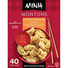 Minh Honey Sesame Wontons (40 ct., 33 oz.)