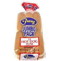 Franz Hot Dog Buns (12 ct.)