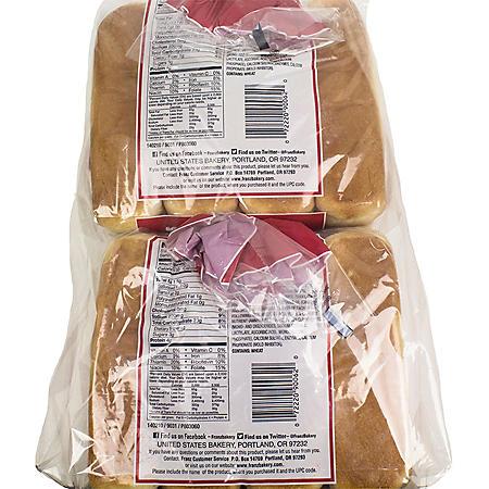 Alaska Grains Hot Dog Buns (16 ct., 27 oz.)