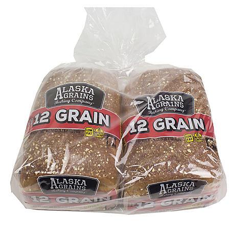 Alaska Grains Kenai River 12 Grain Bread (2 pk., 48 oz.)