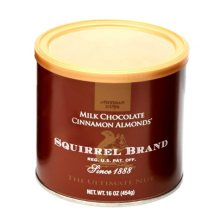 Squirrel Brand Milk Chocolate Cinnamon Almonds