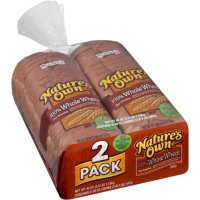 Nature's Own 100% Whole Wheat Bread (20oz / 2pk)