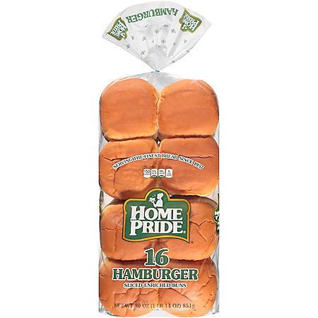 Home Pride Hamburger Buns (30oz)