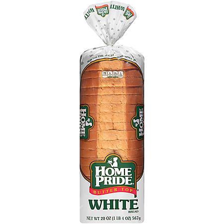 Home Pride Butter Top White Bread (20oz / 2pk)