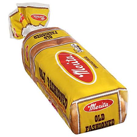 Merita Old Fashioned White Bread (20oz / 2pk)