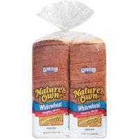 Nature's Own Whitewheat Bread (20oz / 2pk)