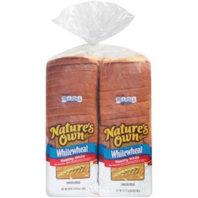 Nature's Own Whitewheat Bread (20oz / 2pk)