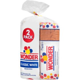 Wonder Classic White Bread (20oz / 2pk)