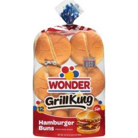 Wonder Grill King Hamburger Buns (35oz)