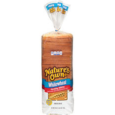 Nature's Own Whitewheat (2 loaves)