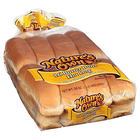 Nature's Own Hot Dog Buns (16 ct.)