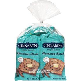Cinnabon Cinnamon Swirl Breakfast Bread (32 oz., 2 pk.)