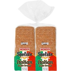 Wonder Italian Style Bread (20 oz., 2 per pk.)