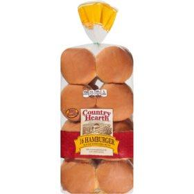Country Hearth Hamburger Buns (30oz)
