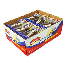 Mrs. Freshley's Cream Filled Chocolate Cupcakes (2 per pack, 18 pk.)